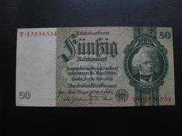 Germany Weimar Republic 50 Marks 1933 №5 UNC - [ 3] 1918-1933: Weimarrepubliek