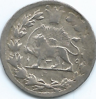 Iran - Mozaffar Al-Din - 1 Shahi - AH1319 (1902) - KM966 - Very Scarce - Date Between Lion's Legs - Iran