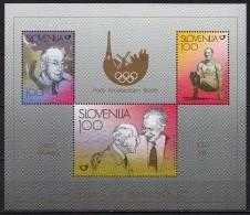 Slovénie - Slovenija - Bloc Feuillet - 1998 - Yvert N° BF 8 **  - Jeux Olympiques - Slovénie