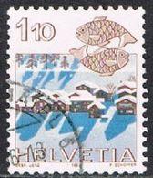 Switzerland SG1035 1982 Definitive 1f.10 Good/fine Used [17/15734/7D] - Switzerland