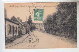 RT32.149  ORNE .GACE.ROUTE DE ROUEN.ENTREE DE L'HOSPICE St- MARTIN EDIT.TARANNE JOURNAUX - Gace