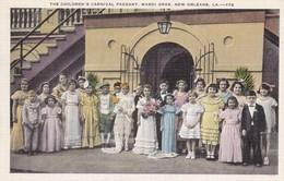 CARTOLINA - POSTCARD - STATI UNITI - NEW ORLEANS - THE CHILDREN'S CARNIVAL PAGEANT, MARDI GRAS  LA- 172 - New Orleans