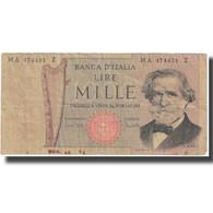 Billet, Italie, 1000 Lire, KM:101a, TB - [ 2] 1946-… : Républic