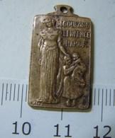 Méd. 14. Médaille En Bronze Secourons L'enfance Namur. 1925 - Professionnels / De Société
