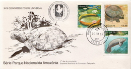 Brazil Set On FDC - Stamps