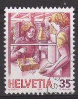 Switzerland SG1107 1986 Post 35c Good/fine Used [2/1192/7D] - Switzerland