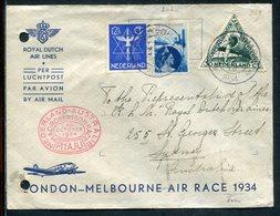 Niederlande / 1934 / Mi. 267 MiF A. Lupo-Brief (12118) - Period 1891-1948 (Wilhelmina)