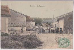 CUMIERES LE MORT - HOMME (55) : LA RIGOLETTE - UNE FERME ET DES PAYSANS - ECRITE EN 1907 - 2 SCANS - - France