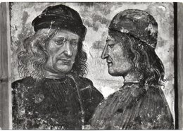 ORVIETO - Museo Dell'Opera - Tegola Di Luca Signorelli E Nicola Vitelli - Autoritratto - Altre Città