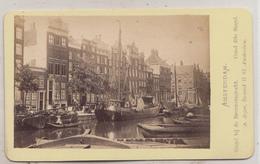 CDV - Amsterdam - Singel Bij De Brouwersgracht - A. Jager Amsterdam - Oud (voor 1900)