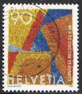 Switzerland SG1327 1996 Largest Living Postage Stamp 90c Good/fine Used [2/1192/7D] - Switzerland