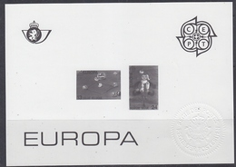 Europa Cept 1989 Belgium Black & White Sheetlet ** Mnh (42325) - 1990