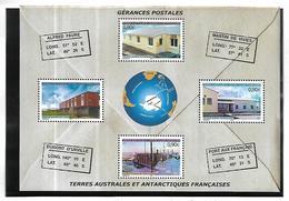 TAAF   2004 Gérances Postales Cat Yt Bloc  N° 11  N** MNH - Blocs-feuillets