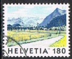 Switzerland SG1387 1998 Paintings 180c Good/fine Used [17/15737/7D] - Switzerland