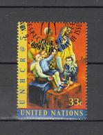 NATIONS  UNIES  N Y  2000      N° 838  OBLITERE   CATALOGUE YVERT - New-York - Siège De L'ONU