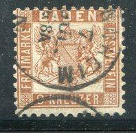 Baden / 1866 / Mi., 20a O (12129) - Bade
