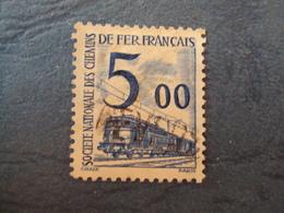 """1944-47 Petits Colis Postaux - Timbre Oblitéré   N°  45 """"  5 Frs Bleu  """"     1  Photo  3 - Pacchi Postali"""