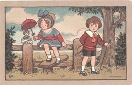 Ethel Parkinson Choildren With Doll # 2 - Parkinson, Ethel