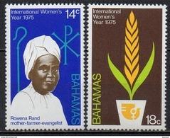 Bahamas - 1975 - Yvert N° 366 & 367 ** - Année Internationale De La Femme - Bahamas (1973-...)