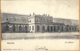 8VL-896: Courtrai  La Station - Nels Serie 41 N°13 - Kortrijk