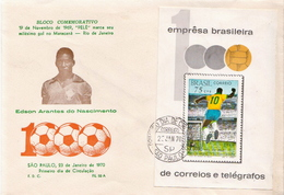 Brazil SS On FDC - Other