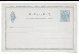 DANMARK - TYPE 1879 - CARTE ENTIER POSTAL Mi Nr. P10 NEUVE AVEC REPIQUAGE ANNONCE De MARIEBO Au DOS ! - Interi Postali