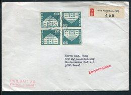 Schweiz / 1971 / Reco-Brief Frank. Mit Kehrdruck Ex Rickenbach (12141) - Switzerland
