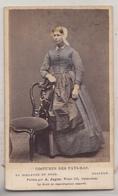 CDV - Costumes Des Pays-Bas - Zaandam - A. Jager, Amsterdam - Oud (voor 1900)