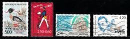 France 1993 : Timbres Yvert & Tellier N° 2788 - 2792 - 2808 - 2810 - 2817 - 2827 - 2835 - 2837 Et 2845 Avec Oblit. Mécan - Frankreich