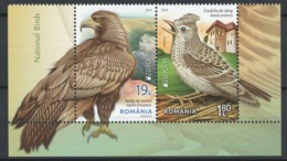 Romania 2019 EUROPA, Birds, Vogel, Aquila, Eagle, Songbird, Fauna - BOTTOM Of Minisheet, Feuillet, Block - MNH - XX-58 - Pájaros