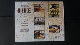 """Belgique 2018: Timbres Numéro BL260 """"La Culture De La Bière Belge"""" État Neuf - Belgium"""