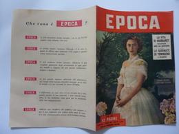 "Volantino Pubblicitario ""EPOCA""  1953 - Pubblicitari"