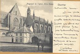 8VL-891: Courtrai Fragment De L'église Notre Dame Nels, Série 41 N°5 - Kortrijk