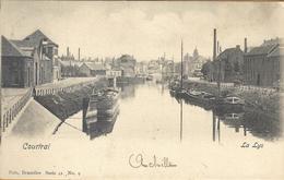 8VL-890: Courtrai La Lys   Nels, Série 41 N°9   Binnenvaart - Kortrijk