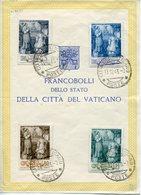 Vaticano (1943) - 25 Anni Di Episcopato Di Pio XII - Oblitérés