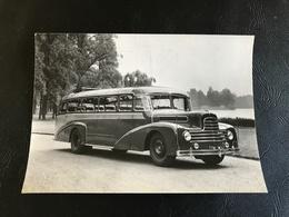 Photo Autocar SAUER 30 Places - L. CHAPON LYON Parc De La Tete D'Or - 15 X 10cm - Automobile