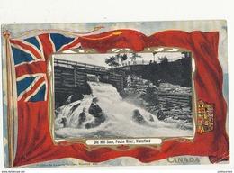 CANADA OLD MILL DAM PECHE RIVER WAKEFIELD - Canada