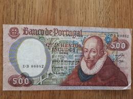 500 Escudos Du 4/10/1979 En Bon état - Portugal