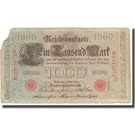 Billet, Allemagne, 1000 Mark, 1910, 1910-04-21, KM:44a, TB - [ 1] …-1871 : Etats Allemands