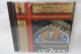 "CD ""Sergey Rachmaninov"" Vespers, Op. 37, Choir Of St. Petersburg, Vladislav Chernushenko (noch Orig. Eingeschweißt) - Chants Gospels Et Religieux"