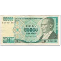 Billet, Turquie, 50,000 Lira, 1970, KM:204, TB+ - Turquie