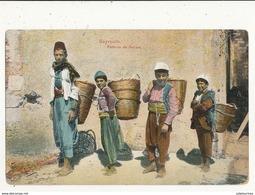 LINAN BEYROUTH PORTEURS DE PANIERS CPA BON ETAT - Liban