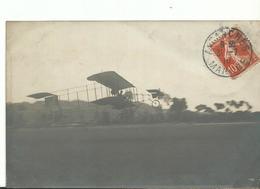 50 Avranches     Aeroplane En Vole - Avranches