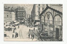 Cp, 38 ,  GRENOBLE , Place SAINTE CLAIRE Et Rue Du Président CARNOT ,écrite - Grenoble