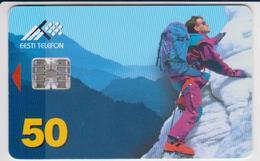 #06 - ESTONIA-21 - HILL CLIMBING - 50 KR - 50.000EX. - Estonia