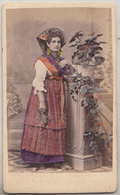 CDV - Femme En Costume - Fratelli Toscani, Loreto - Foto