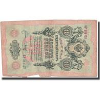 Billet, Russie, 10 Rubles, 1909, KM:11b, TB - Russia