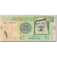 Billet, Saudi Arabia, 1 Riyal, 2009, KM:31b, TB+ - Arabie Saoudite