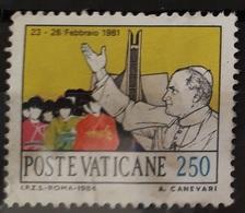 Vatican 1984 Y&T N° 758 Oblitéré - Vaticano (Ciudad Del)