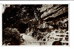 CPA - Carte Postale Royaume Uni - Folkestone- Zig Zag Path-1931 VM2225 - Folkestone